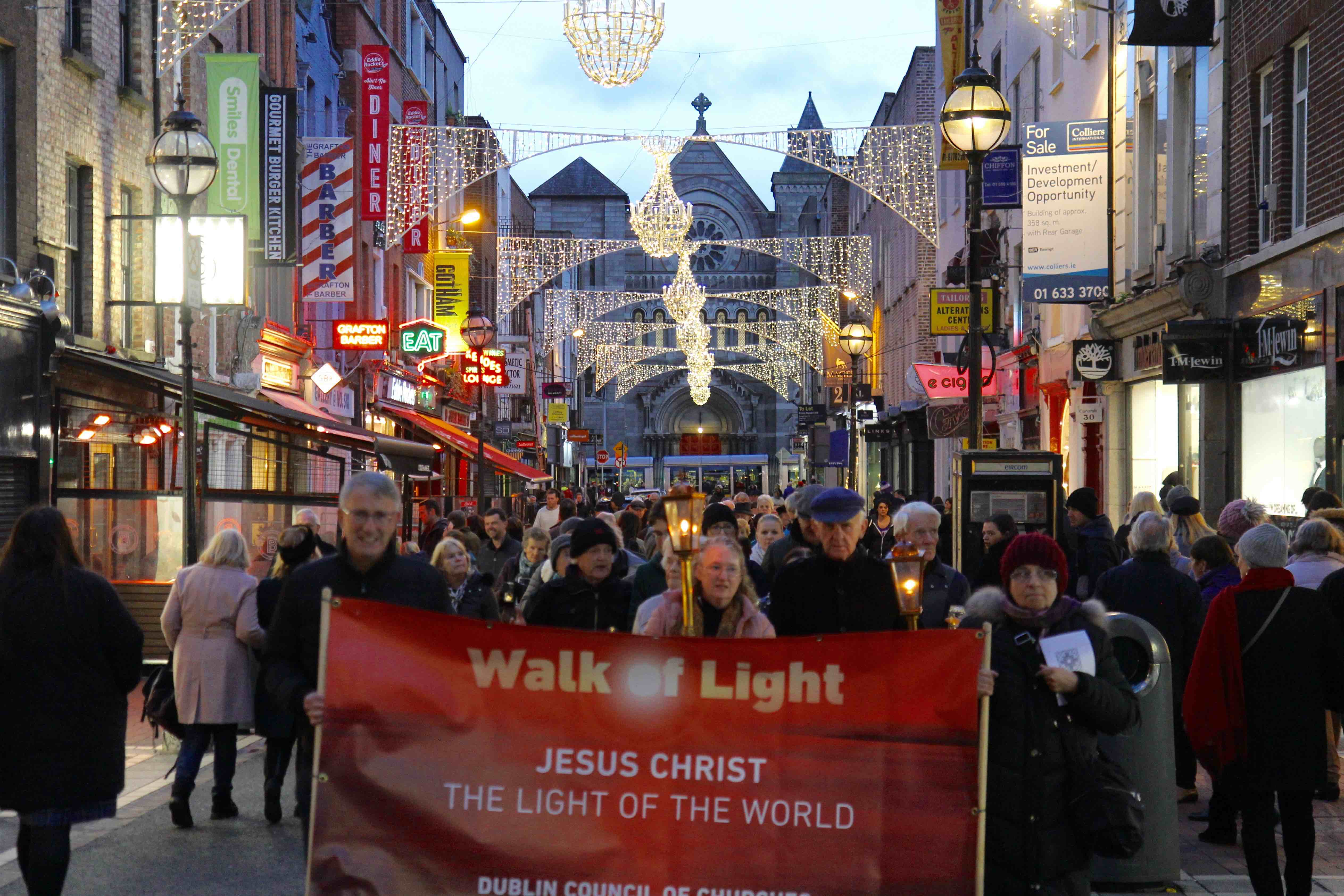 NEWS – Bringing the light of Christ to Dublin's city centre